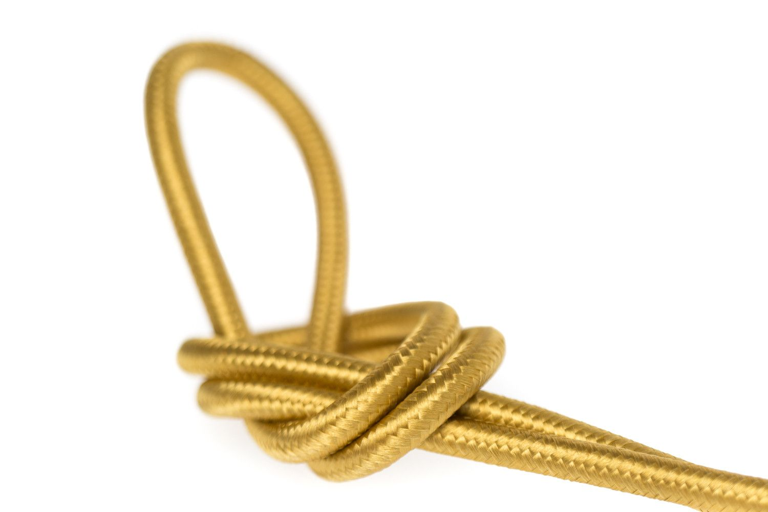 Cloth Covered Wire - Brass | Color Cord Company