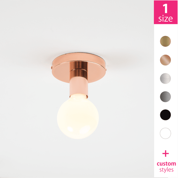 Button Flush Mount Light