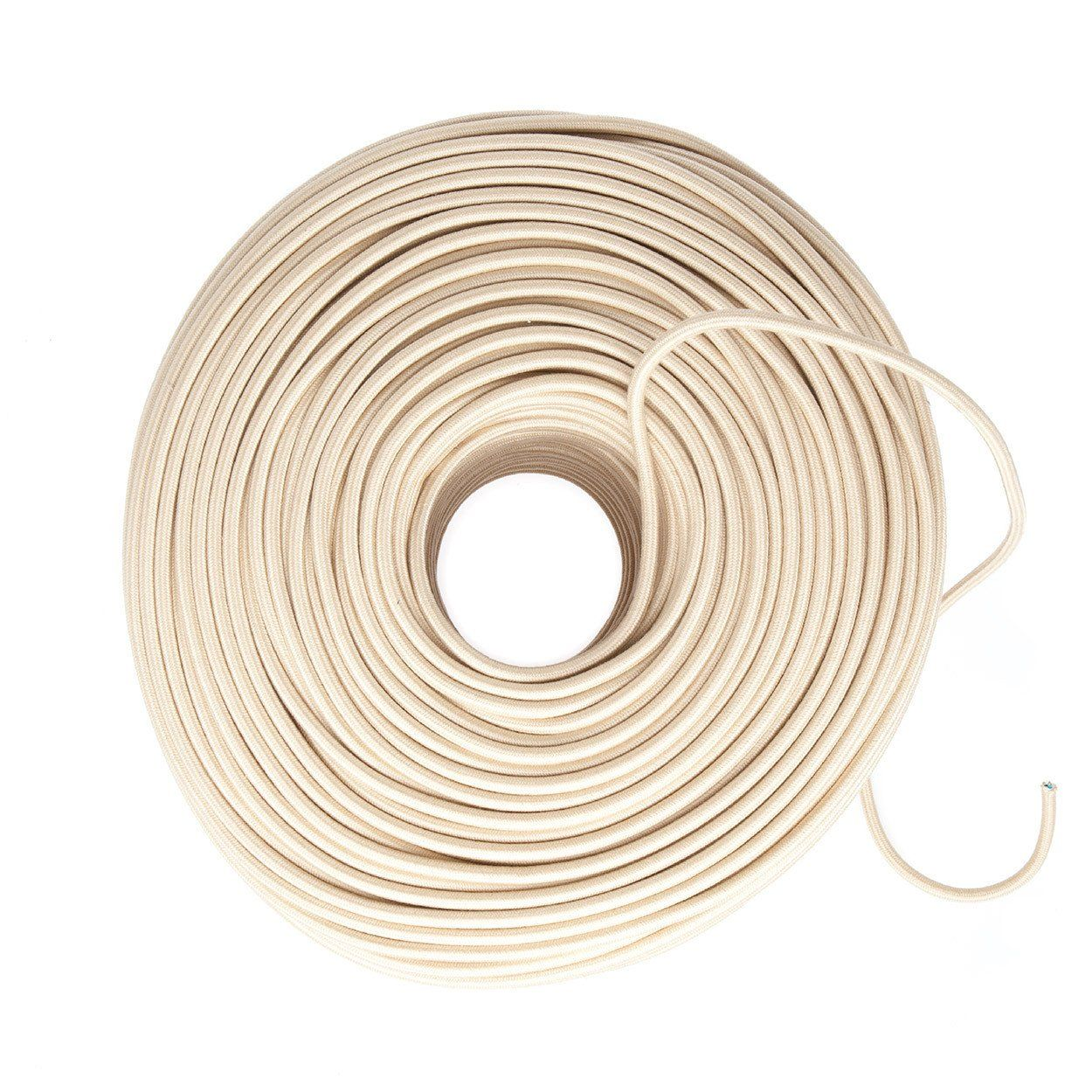 Cloth Covered Wire - Canvas (Cotton Blend) | Color Cord Company