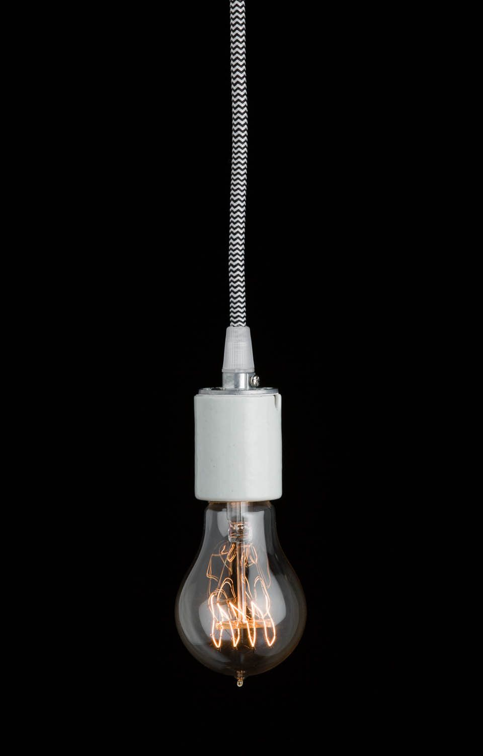 Joule bulb vintage lightbulb 60w color cord company for Pendulum light globes
