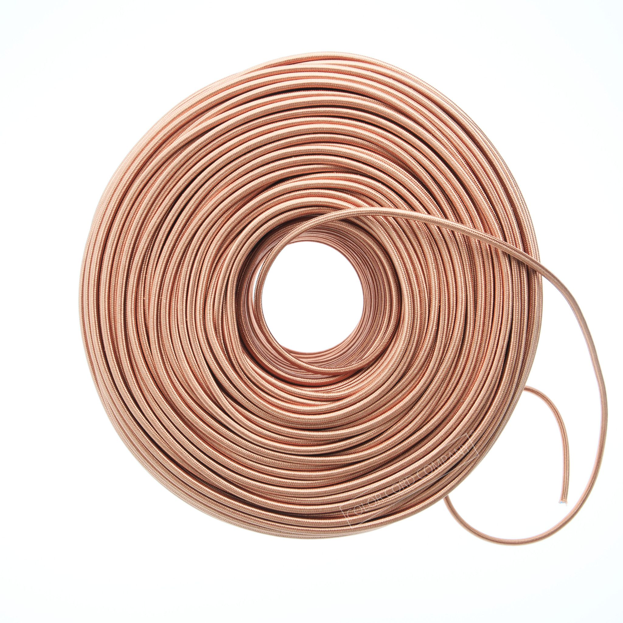 Cloth Covered Wire - Copper Penny | Color Cord Company