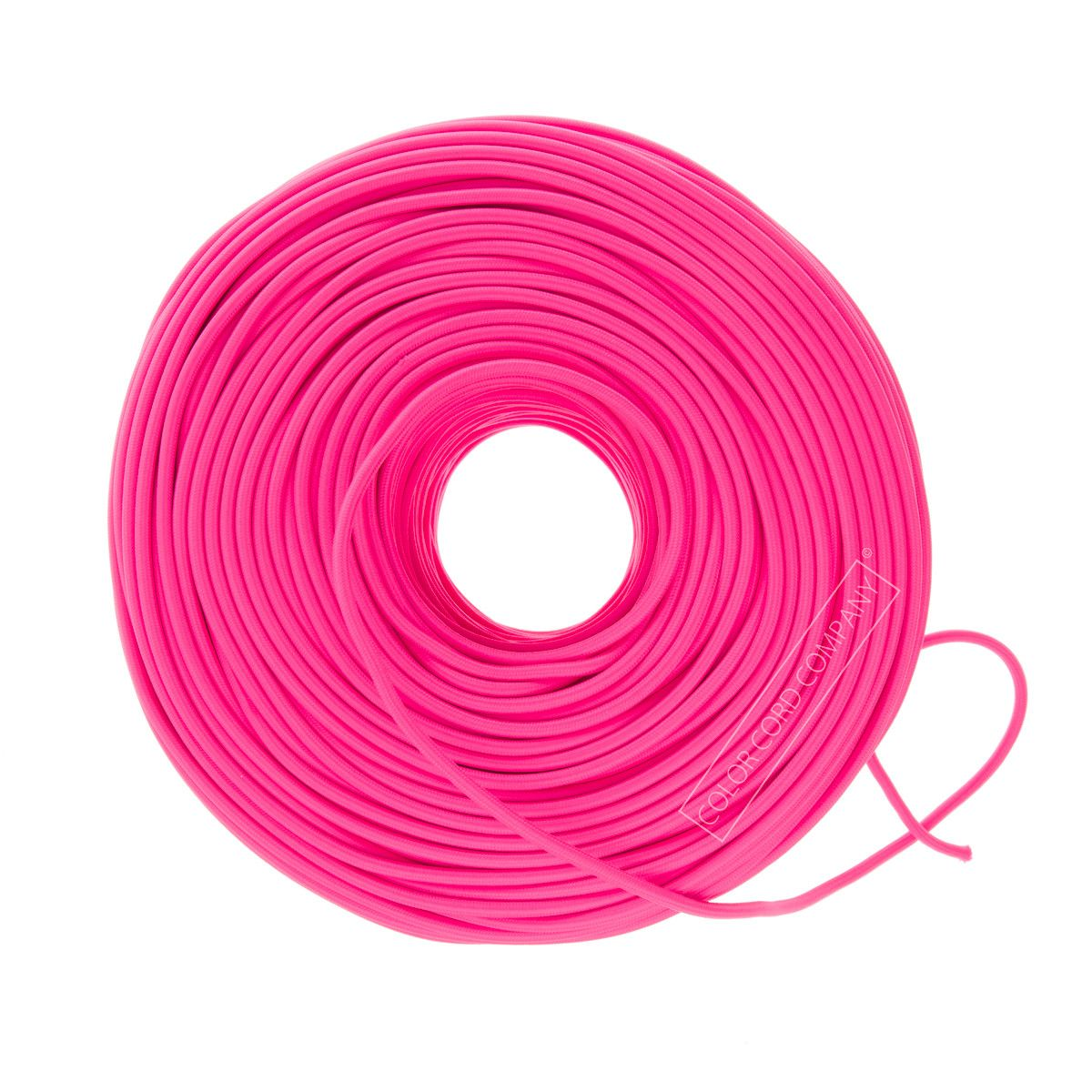 So Cord Listed 3 4 5 Conductor So Sow Cable Flexible Cored: Cloth Covered Wire - Hot Pink