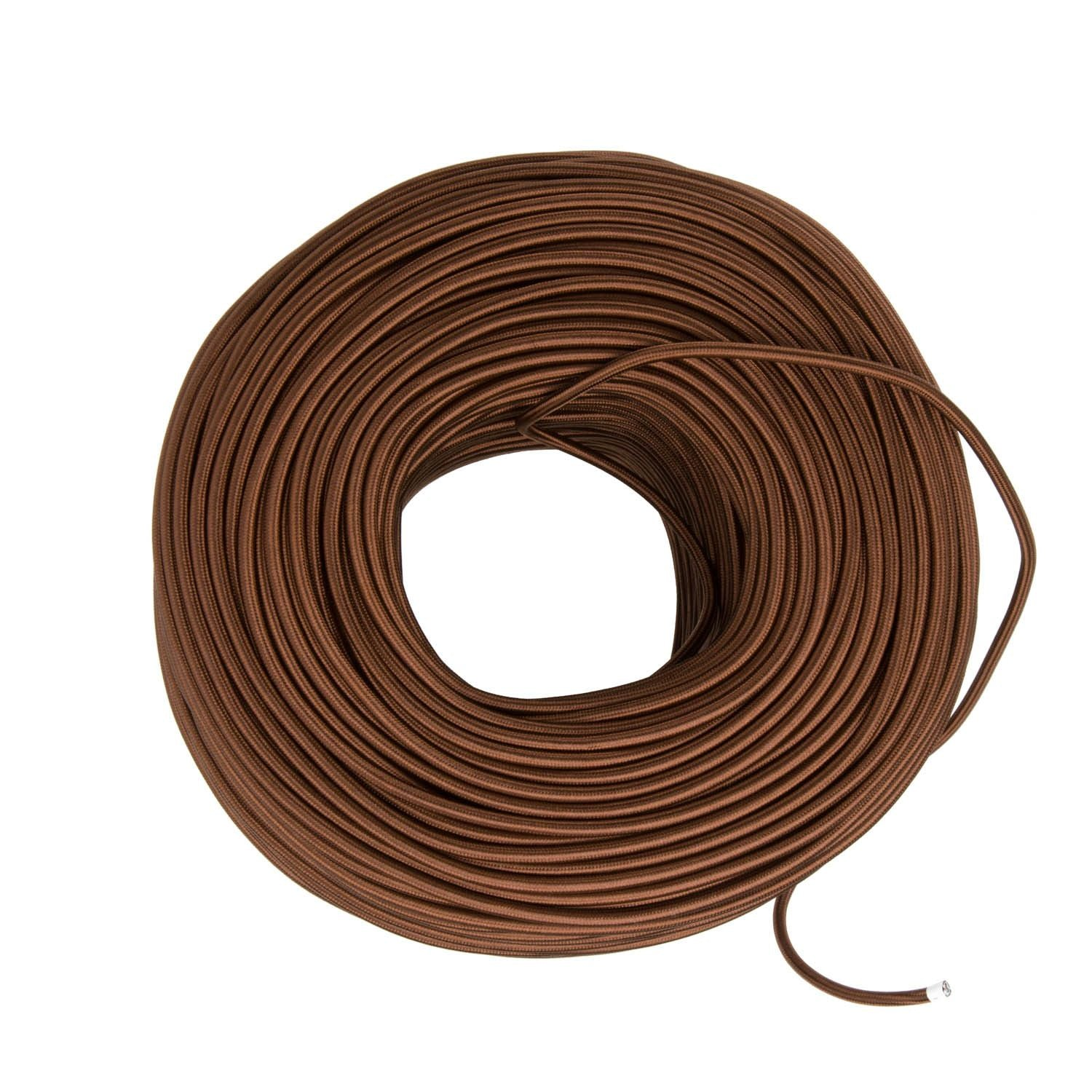 Cloth Covered Wire Bronze Color Cord Company Wiring Diy Fabric By The Foot
