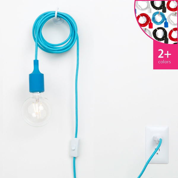 Plug-In Pendant Light Cord Set - Silicone