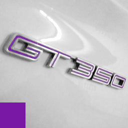 GT350 Fender Badge Insert Set
