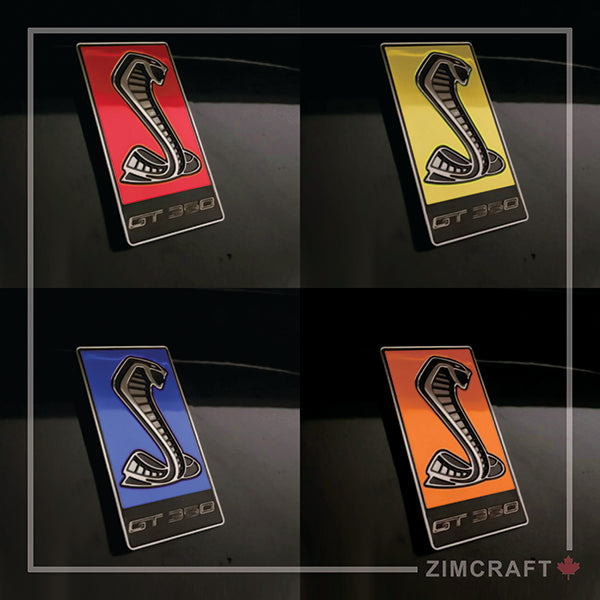 GT350 Emblem Overlays : Colored