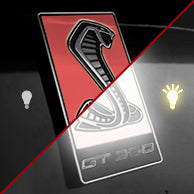 Load image into Gallery viewer, GT350 Emblem Overlays : Textured/Special