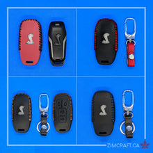 Load image into Gallery viewer, GT350 Handmade Leather Key-Case (2015-2017)