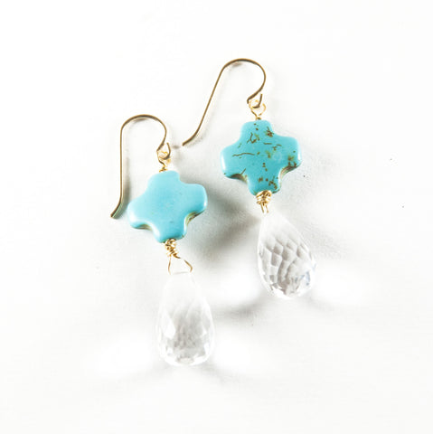 Assurance Earrings - Turquoise
