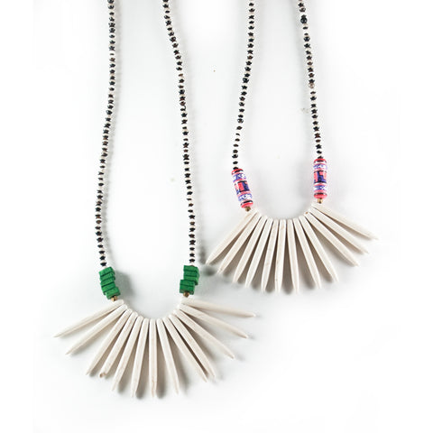 Peruvian Spike Necklace