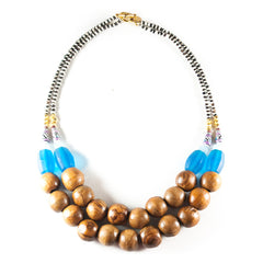 Peruvian Wood Necklace