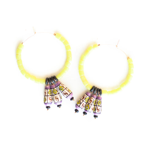 Spunk Hoop Earrings