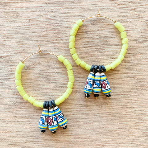 Spark Hoop Earrings