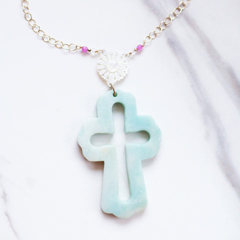 The Truth of the Matter - Signature Cross Necklace