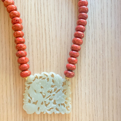 Coral + Jade Statement