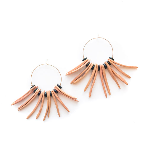 Lady of the Valleys Hoop Earrings