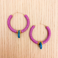 Orchid Hoops