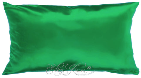 Mid Green Mulberry Silk Pillowcase