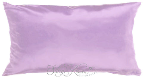 Mauve Silk Pillowcase