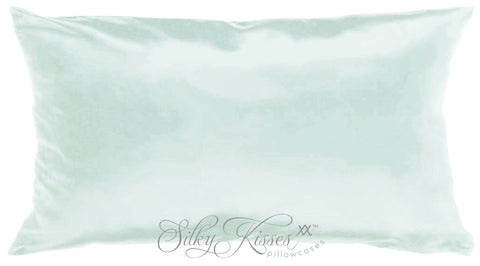 Silver Mulberry Silk Pillowcase