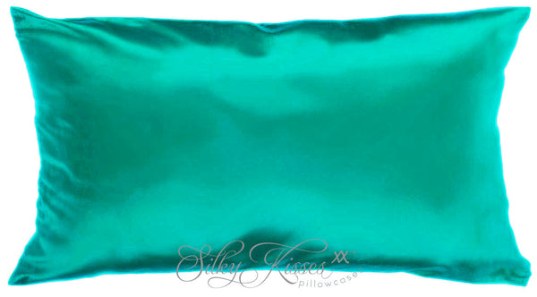 Jade Silk Pillow Case