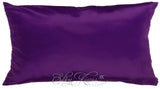 Dark Purple Silk Pillow Case 22 momme