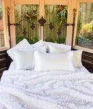 White Pure Mulberry Silk Pillowcases