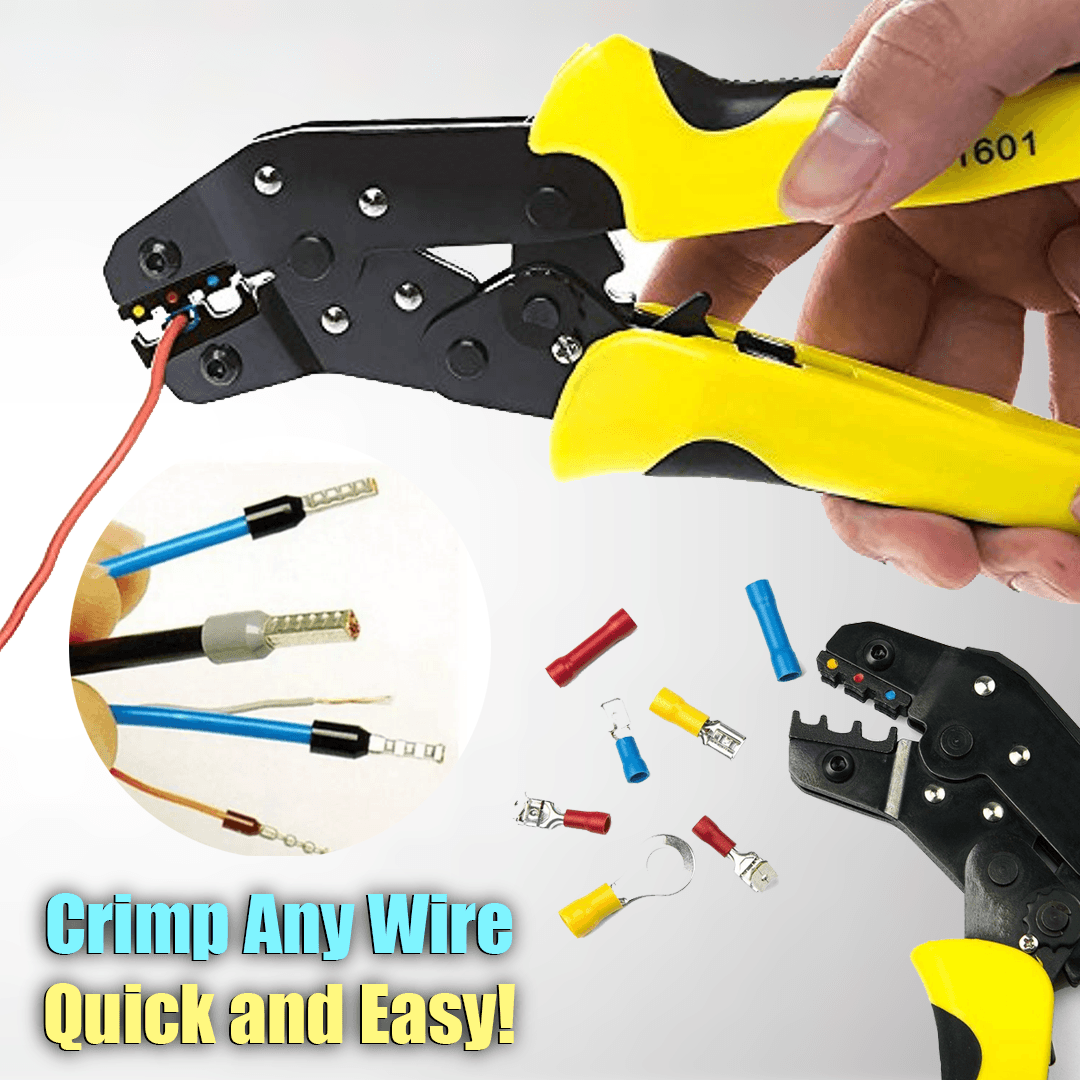 Wire Terminals Crimper Kit