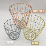 Collapsible Wire Basket