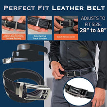 Load image into Gallery viewer, Perfect Fit Leather Belt