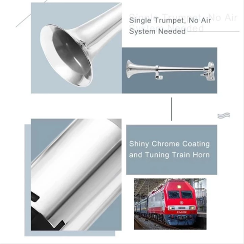 Last two days 50%OFF, 150 DB Train Horn With Air Compressor