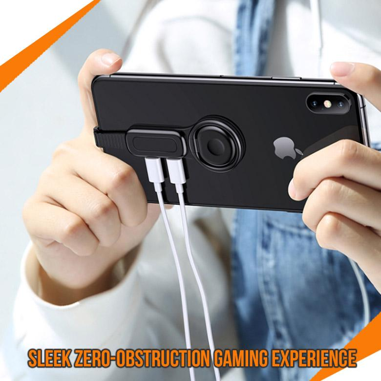 2-in-1 ProGame Adaptor with Rotatable Phone Holder