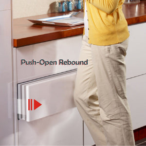 Push-Open Rebound Drawer Slider