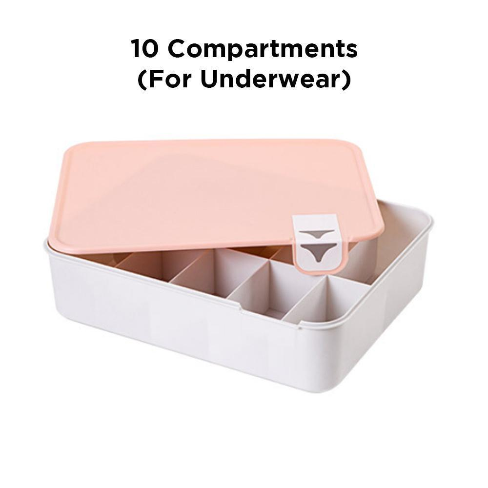 Socks And Underwear Storing Division Box
