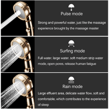 Load image into Gallery viewer, 3 Mode Pressurized Shower Head