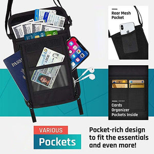 RFID Blocking Lanyard Wallet
