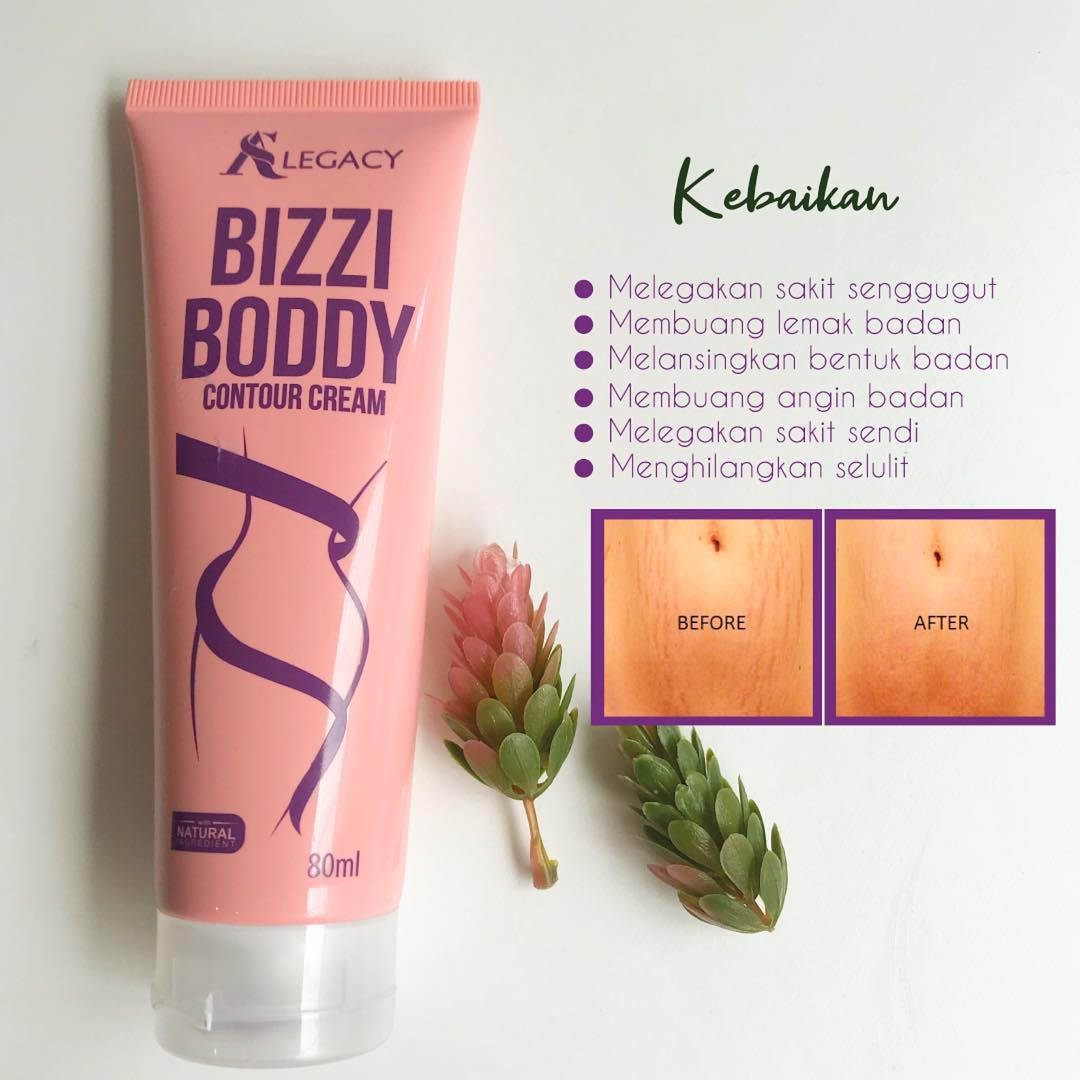 Bizzy Boddy Contour Cream - AS LEGACY SINGAPORE-JOHOR BAHRU