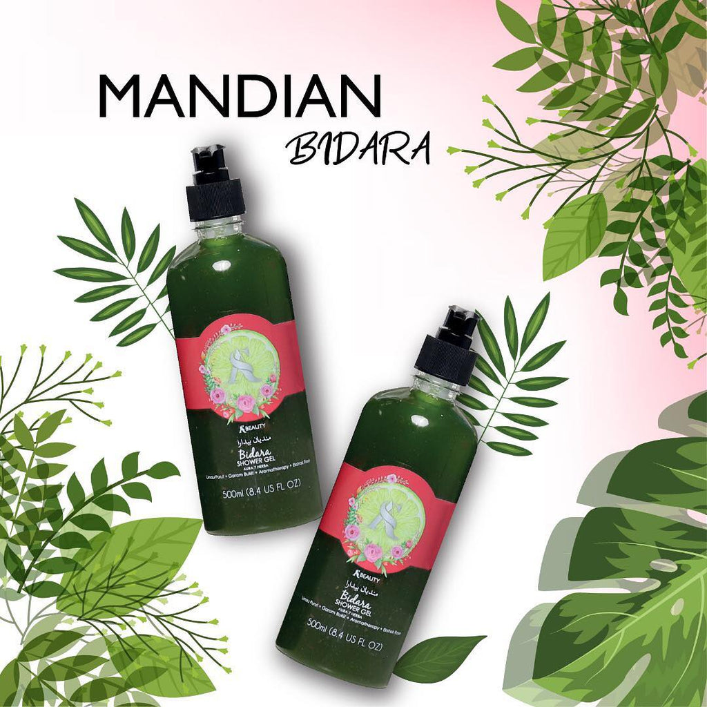 Mandian Bidara Shower Gel - AS LEGACY SINGAPORE-JOHOR BAHRU