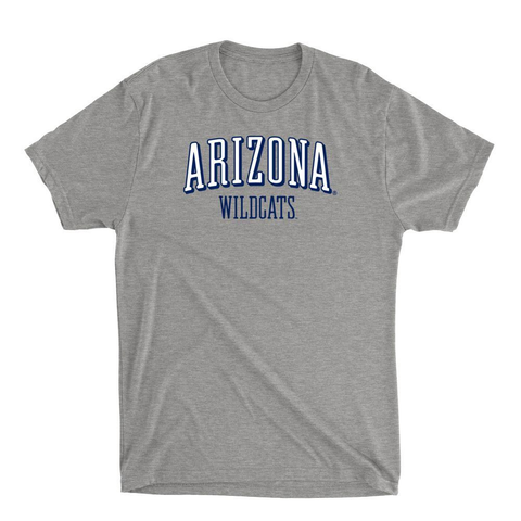 Official NCAA Arizona Wildcats - RYLARZ07 Mens / Womens Premium Triblend T-Shirt