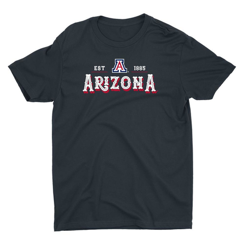 Official NCAA Arizona Wildcats - RYLARZ12 Premium Mens / Womens Boyfriend T-Shirt