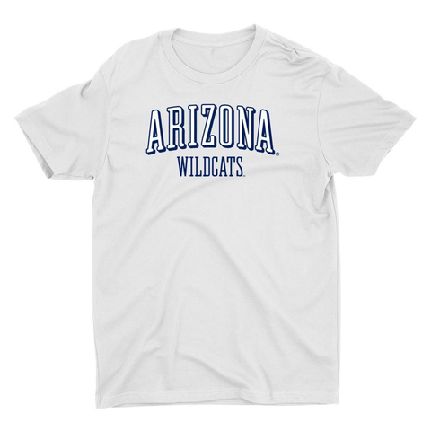 Official NCAA Arizona Wildcats - RYLARZ07 Premium Mens / Womens Boyfriend T-Shirt