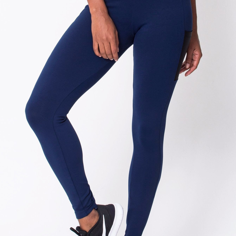 Navy Work It Legging