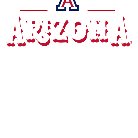 Official NCAA Arizona Wildcats - RYLARZ12 Women's Bamboo Dye Muscle T-Shirt