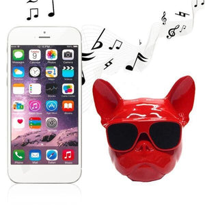 Dog Face Bluetooth Speaker