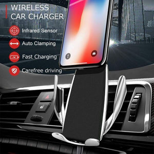 S5 - Fast Wireless Smart Sensor Car Charger
