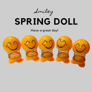 Smiley Spring Doll (Pack of 5)