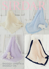 Sirdar Snuggly Sweetie Blanket Knitting Pattern 4700