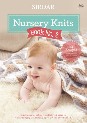 Sirdar Snuggly Nursery Knits Book 3 Knitting Pattern Book
