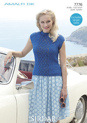 Sirdar Ladies Amalfi D/K Pattern 7776