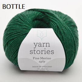 Yarn Stories Fine Merino 4ply Wool